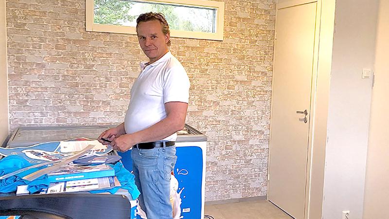 Grilli-kahvio Pysäkki viimeistelyä vaille valmis