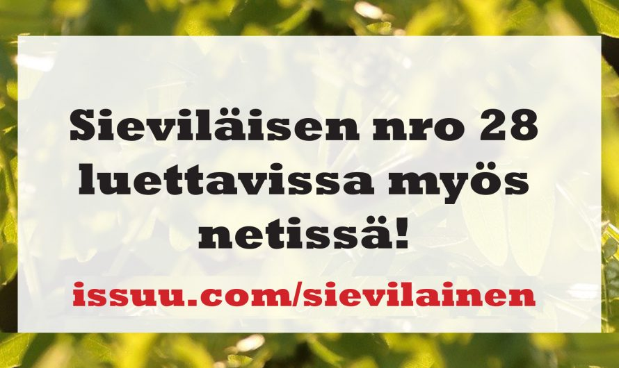 Perjantaina sekä lauantaina Sievin Kauppapäivät ja Kenkämarkkinat